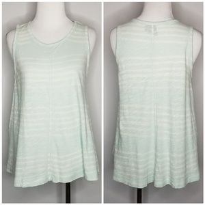 Anthropologie | Left of Center Ombre Swing Top